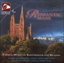 The Romantic Mass - CD Audio di Joseph Gabriel Rheinberger