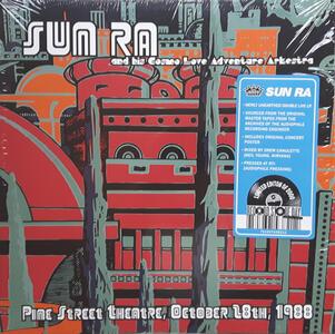 Pine Street Theatre October 28th 1988 - Vinile LP di Sun Ra