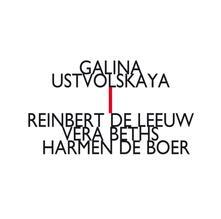 Trio con violino, clarinetto e pianoforte - Sonata per pianoforte n.5 - CD Audio di Galina Ustvolskaya