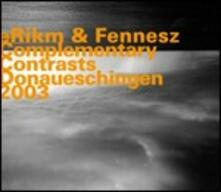 Complementary Contrasts - CD Audio di Fennesz,eRikm