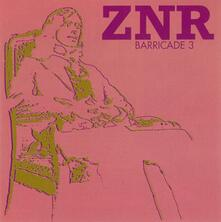 Barricade 3 - CD Audio di ZNR