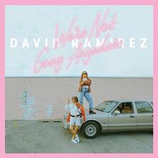 We Re Not Going Anywhere - Vinile LP di David Ramirez