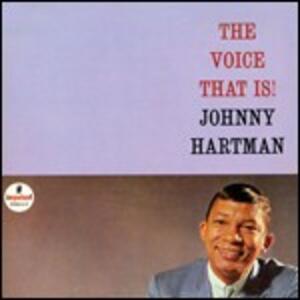 The Voice That Is! - Vinile LP di Johnny Hartman