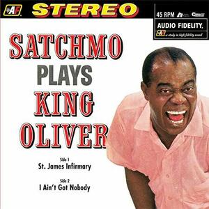Satchmo Plays King Oliver - Vinile LP di Louis Armstrong