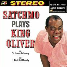 Satchmo Plays King Oliver (200 gr.) - Vinile LP di Louis Armstrong