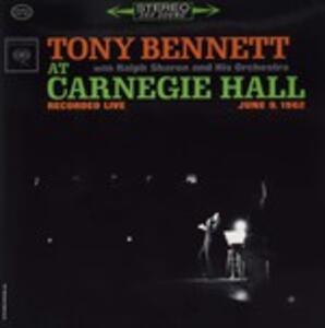 At Carnegie Hall - Vinile LP di Tony Bennett
