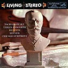 Concerto per violino - Vinile LP di Pyotr Ilyich Tchaikovsky,Jascha Heifetz,Fritz Reiner,Chicago Symphony Orchestra