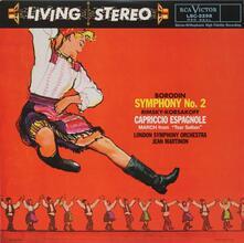 Borodin: Symphony No. 2 / Rimsky-Korsakov: Caprico - Vinile LP di Alexander Porfirevic Borodin,Jean Martinon