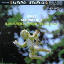 Sinfonia n.4 - Vinile LP di Gustav Mahler,Fritz Reiner,Chicago Symphony Orchestra
