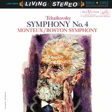 Sinfonia n.4 - Vinile LP di Pyotr Ilyich Tchaikovsky,Pierre Monteux,Boston Symphony Orchestra