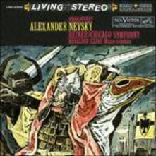 Alexander Nevsky (200 gr.) - Vinile LP di Sergej Sergeevic Prokofiev,Fritz Reiner,Chicago Symphony Orchestra