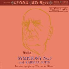 Sinfonia n.5 - Karelia Suite (SACD Ibrido Stereo) - SuperAudio CD ibrido di Jean Sibelius,London Symphony Orchestra