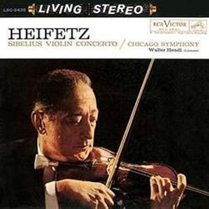 Concerto per Violino - Vinile LP di Jean Sibelius,Jascha Heifetz