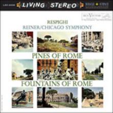 Pini Di Roma - Fontane Di Roma - Vinile LP di Ottorino Respighi,Fritz Reiner,Chicago Symphony Orchestra