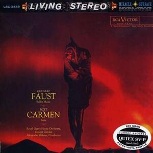 Faust & Carmen - Vinile LP di Georges Bizet,Charles Gounod