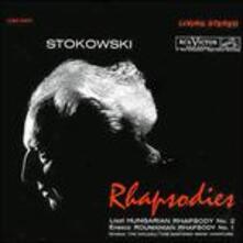 Rapsodie (200 gr.) - Vinile LP di Franz Liszt,Leopold Stokowski,RCA Victor Symphony Orchestra