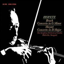 Concerti per violino (200 gr.) - Vinile LP di Wolfgang Amadeus Mozart,Max Bruch,Jascha Heifetz