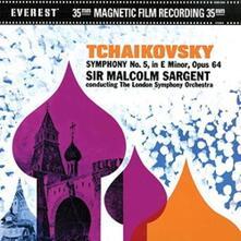 Sinfonia n.5 (45 giri) - Vinile LP di Pyotr Ilyich Tchaikovsky,London Symphony Orchestra,Malcolm Sargent