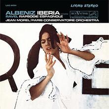 Iberia - Rapsodie - Vinile LP di Maurice Ravel,Isaac Albéniz,Jean Morel