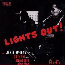 Lights Out! (180 gr. - feat. Donald Byrd) - Vinile LP di Jackie McLean