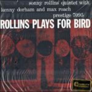 Sonny Rollins Plays for Byrd - Vinile LP di Sonny Rollins