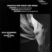 Sonate (200 gr.) - Vinile LP di Johannes Brahms,Claude Debussy,Bela Bartok