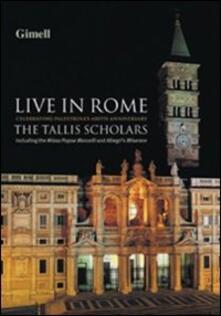 The Tallis Scholars Live in Rome - DVD
