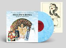 Fellini's Roma (Colonna Sonora) (Blue Coloured Vinyl) - Vinile LP di Nino Rota