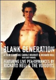 Blank Generation - DVD