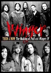 Winger. Then & Now. The Making Of Pull & - DVD