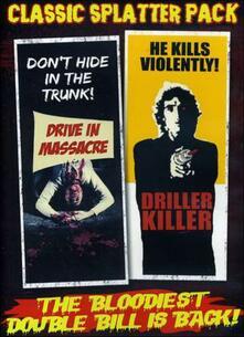 Classic Splatter Pack. Drive In Massacre. Driller Killer - DVD
