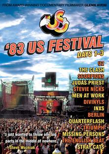 Us Festival 1983. Days 1 - 3 - DVD