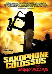 Saxophone Colossus (DVD) - DVD di Sonny Rollins