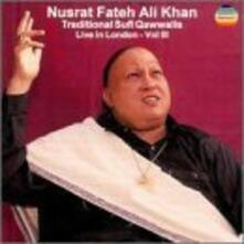 Live in London 3 - CD Audio di Nusrat Fateh Ali Khan