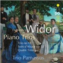 Trio op.19 - Soir d'Alsace - 4 Pieces - CD Audio di Charles-Marie Widor,Trio Parnassus