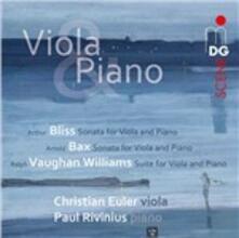 Opere inglesi per viola e pianoforte - SuperAudio CD ibrido di Ralph Vaughan Williams,Sir Arthur Bliss,Arnold Trevor Bax,Christian Euler