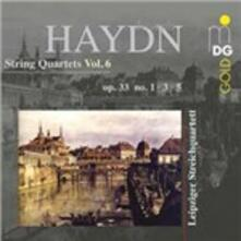 Quartetti per archi vol.6 - CD Audio di Franz Joseph Haydn,Leipzig String Quartet