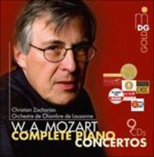 Concerti per pianoforte (Integrale) - CD Audio di Wolfgang Amadeus Mozart,Christian Zacharias