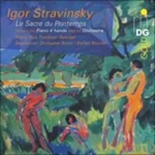 La sagra della primavera (Le Sacre du Printemps) - SuperAudio CD ibrido di Igor Stravinsky,Beethoven Orchester Bonn,Stefan Blunier,Piano Duo Trenkner/Speidel