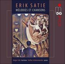 Mélodies Et Chansons - CD Audio di Erik Satie