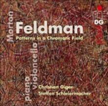 Patterns in a Chromatic Field - CD Audio di Morton Feldman