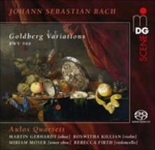Goldberg Variations (Multicanale) - SuperAudio CD ibrido di Johann Sebastian Bach