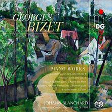Opere per Pianoforte - SuperAudio CD ibrido di Georges Bizet,Johann Blanchard