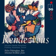 Rendezvous. Musica per flauto e pianoforte - SuperAudio CD ibrido di Helen Dabringhaus