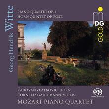 Quartetto con pianoforte - Quartetto per corni - SuperAudio CD ibrido di George Hendrik Witte