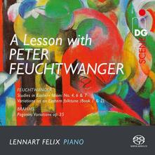 Musica per pianoforte - SuperAudio CD ibrido di Peter Bernhard Feuchtwanger,Lennart Felix