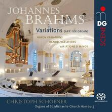 Variazioni su tema di Haydn - Variazioni e fuga su tema di Handel - SuperAudio CD ibrido di Johannes Brahms