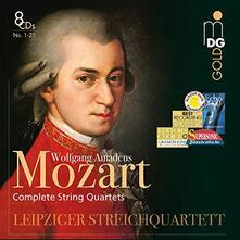 Quartetti per archi completi - CD Audio di Wolfgang Amadeus Mozart