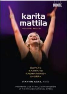 Karita Mattila. Helsinki Recital (DVD) - DVD di Karita Mattila,Martin Katz