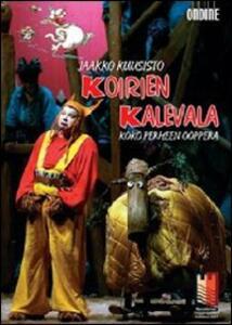 Jaakko Kuusisto. Koirien Kalevala. Il Kalevala dei cani di Minna Vainikainen - DVD
